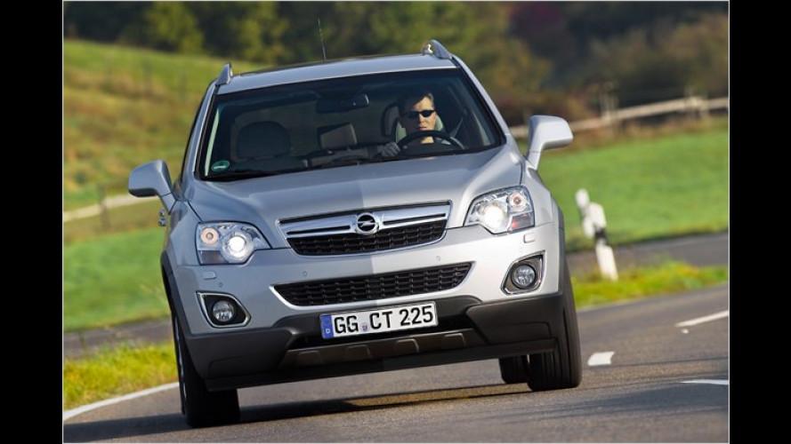 Opel Antara: Preis jetzt bekannt