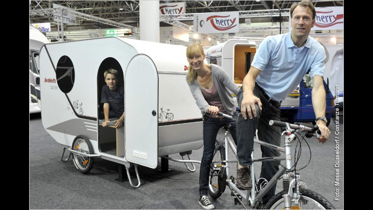 2010: Wohnwagen fürs Fahrrad
