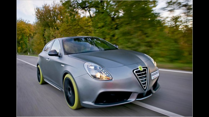 Alfa Giulietta G430 iMove Marangoni: Grünes Gift