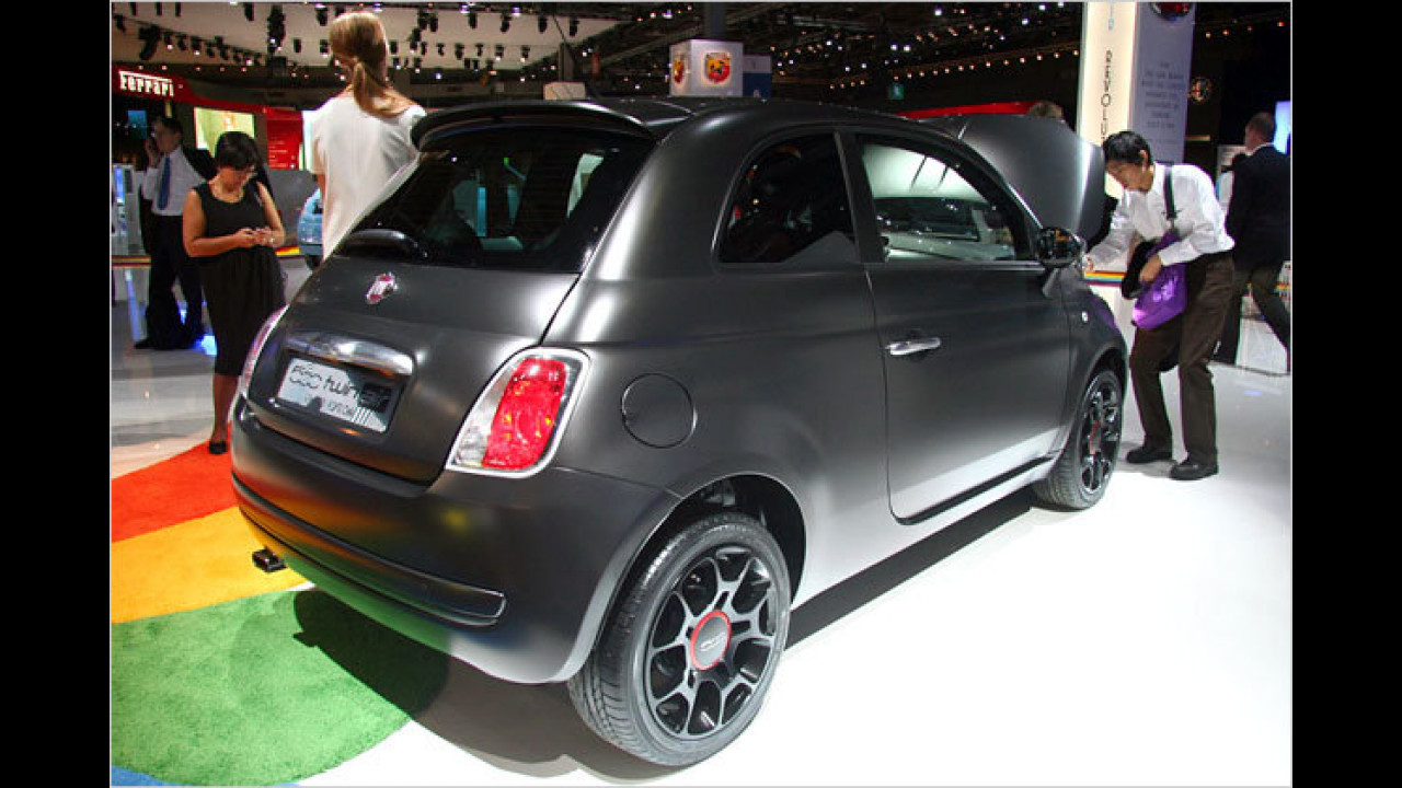 Fiat 500 Black Jack