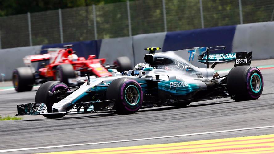 Formule 1 - Bottas et Mercedes brillent en Autriche