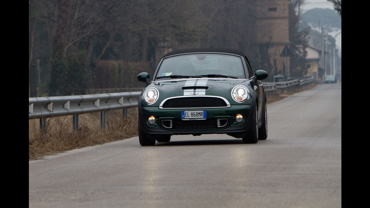 MINI Roadster Cooper S 2012 - Test