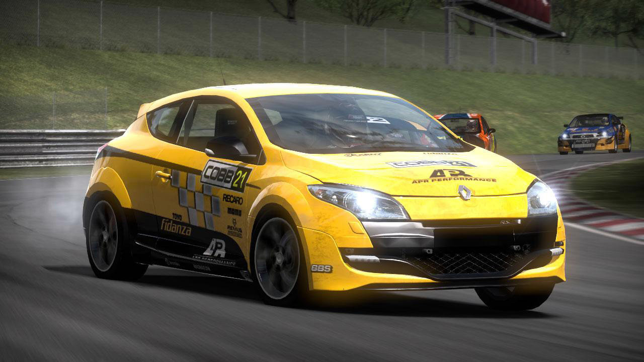 Renault Mégane RS è in Need for Speed Shift