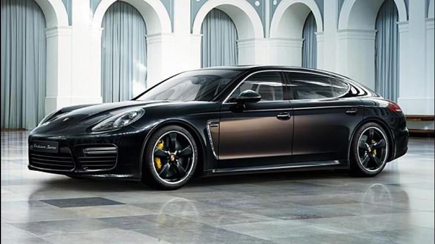 Porsche Panamera Exclusive Series, il lusso artigianale