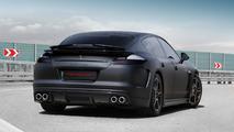 Porsche Panamera Stingray by TopCar, matt black, 28.05.2010