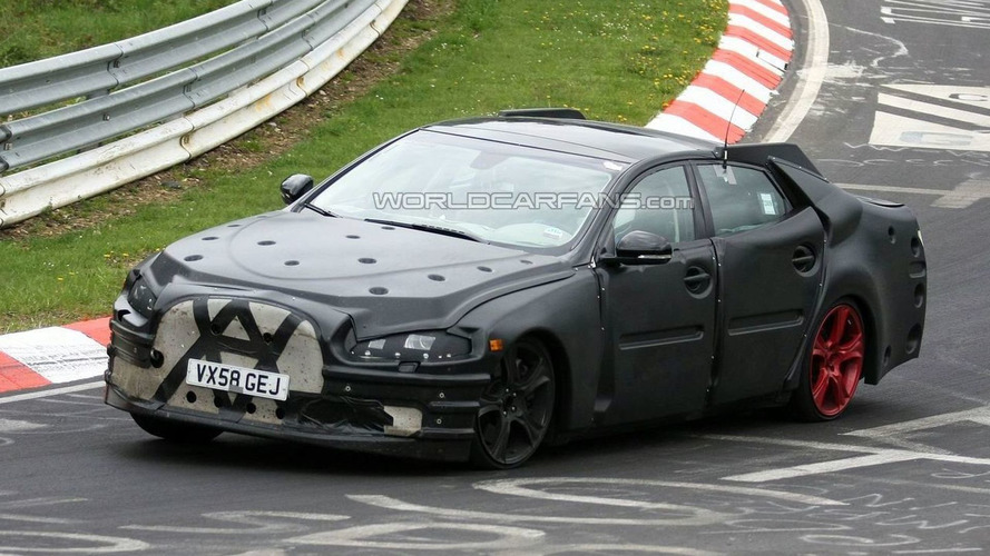 Jaguar XJ Prototype Spied on the 'Ring