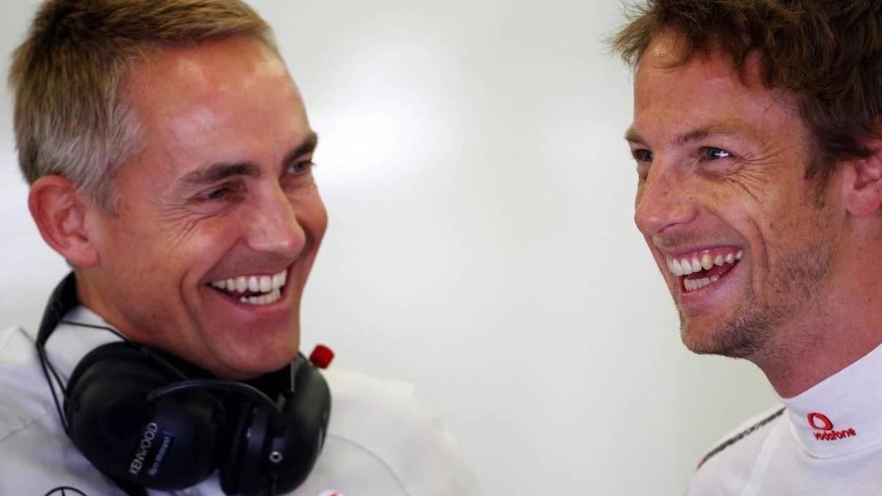 Martin Whitmarsh (GBR), McLaren, Chief Executive Officer, Jenson Button (GBR), McLaren Mercedes, Turkish Grand Prix, 28.05.2010 Istanbul, Turkey