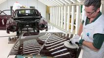 Bentley Mulsanne in the Paintshop