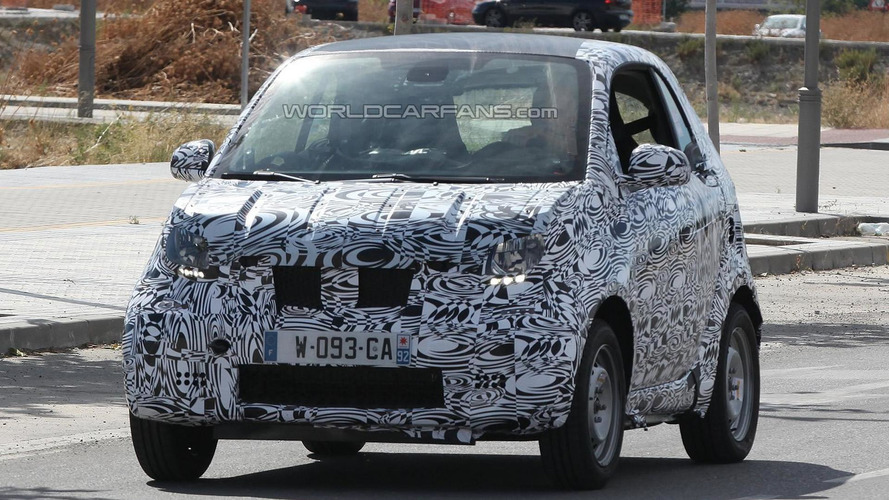 2014 Smart ForTwo spied in production guise