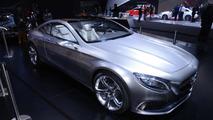 Mercedes-Benz Concept S-Class Coupe live at 2014 NAIAS