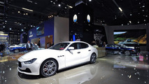 Maserati stand in Frankfurt 10.09.2013