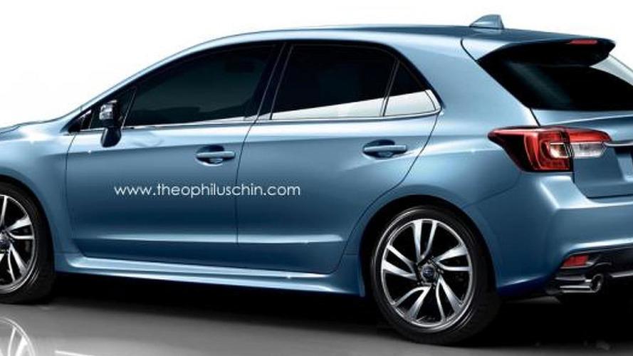 Subaru Levorg hatchback render is an attractive Impreza alternative