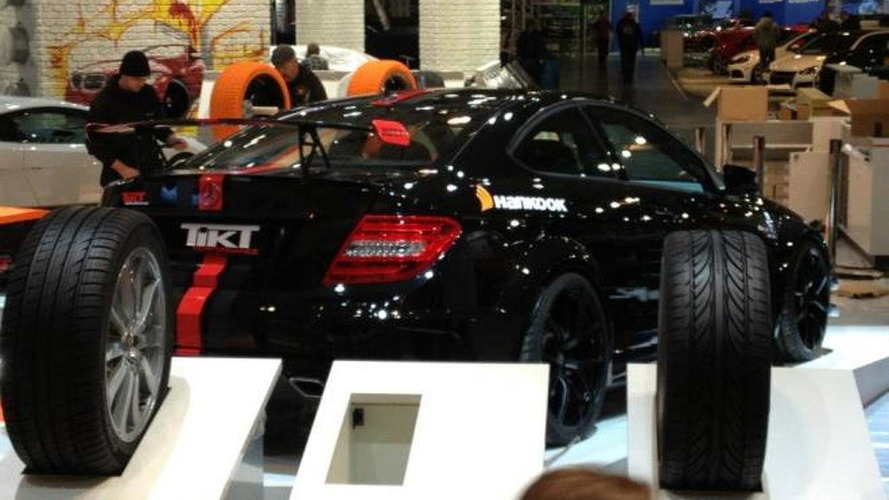 Mercedes-Benz C63 AMG Black Series with 606 HP by TIKT [video]