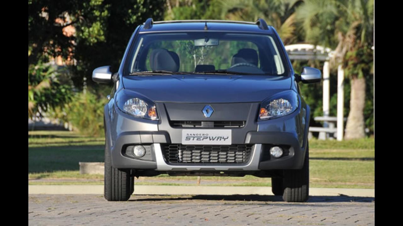 Renault reajusta preços do Logan, Sandero Stepway e Grand Tour - Clio fica mais barato