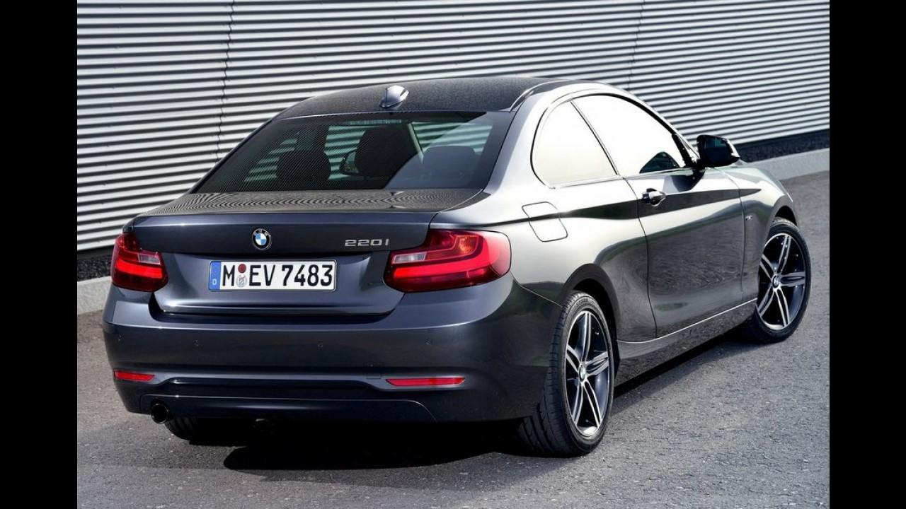BMW Série 2 vai ganhar motor 1.5 três cilindros de 136 cv em 2015