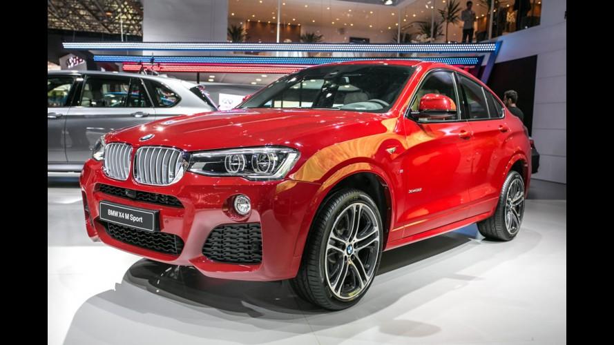 Salão SP: BMW faz show de estreias com Active Tourer, X4, M4 e X5 diesel