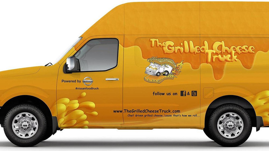 Nissan NV Grilled Cheese and Coolhaus concepts announced