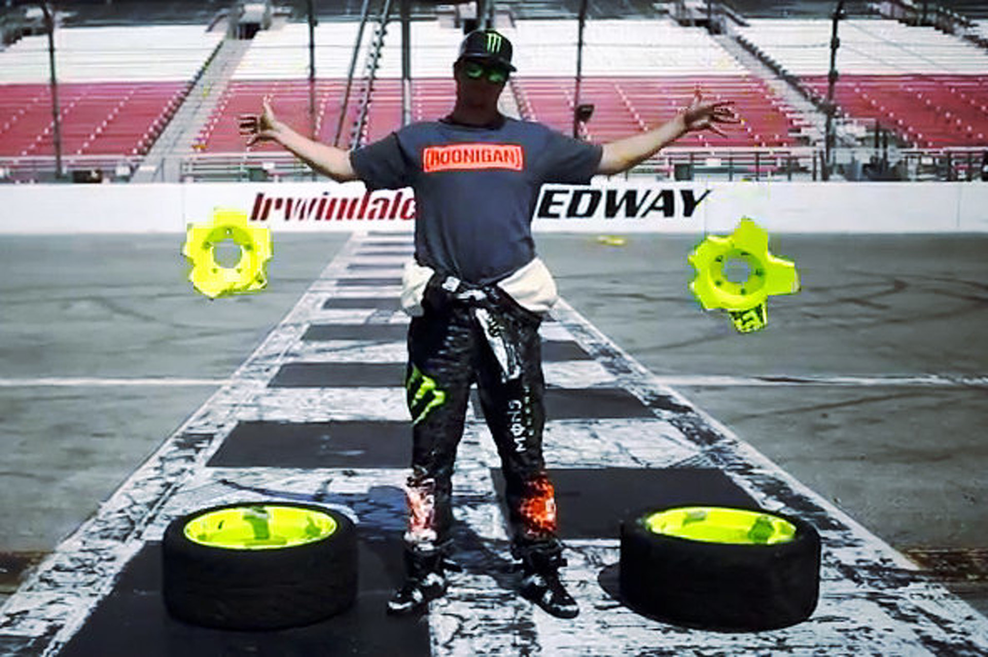 Exploding Wheel Hubs?  Ken Block Doesn't Care About Your Exploding Wheel Hubs