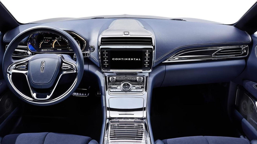 Lincoln highlights the 30-way adjustable seats on the Continental concept [video]