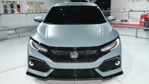 Honda Civic Hatchback prototype at New York Motor Show 2016