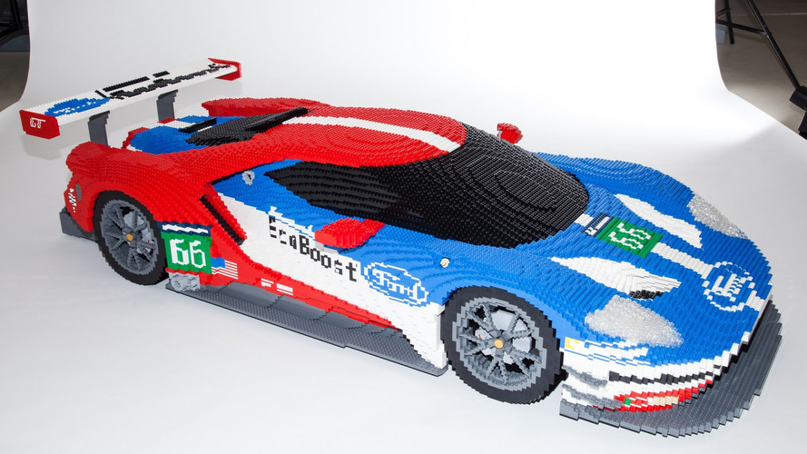 Lego Ford GT and classic GT40 to be displayed at Le Mans