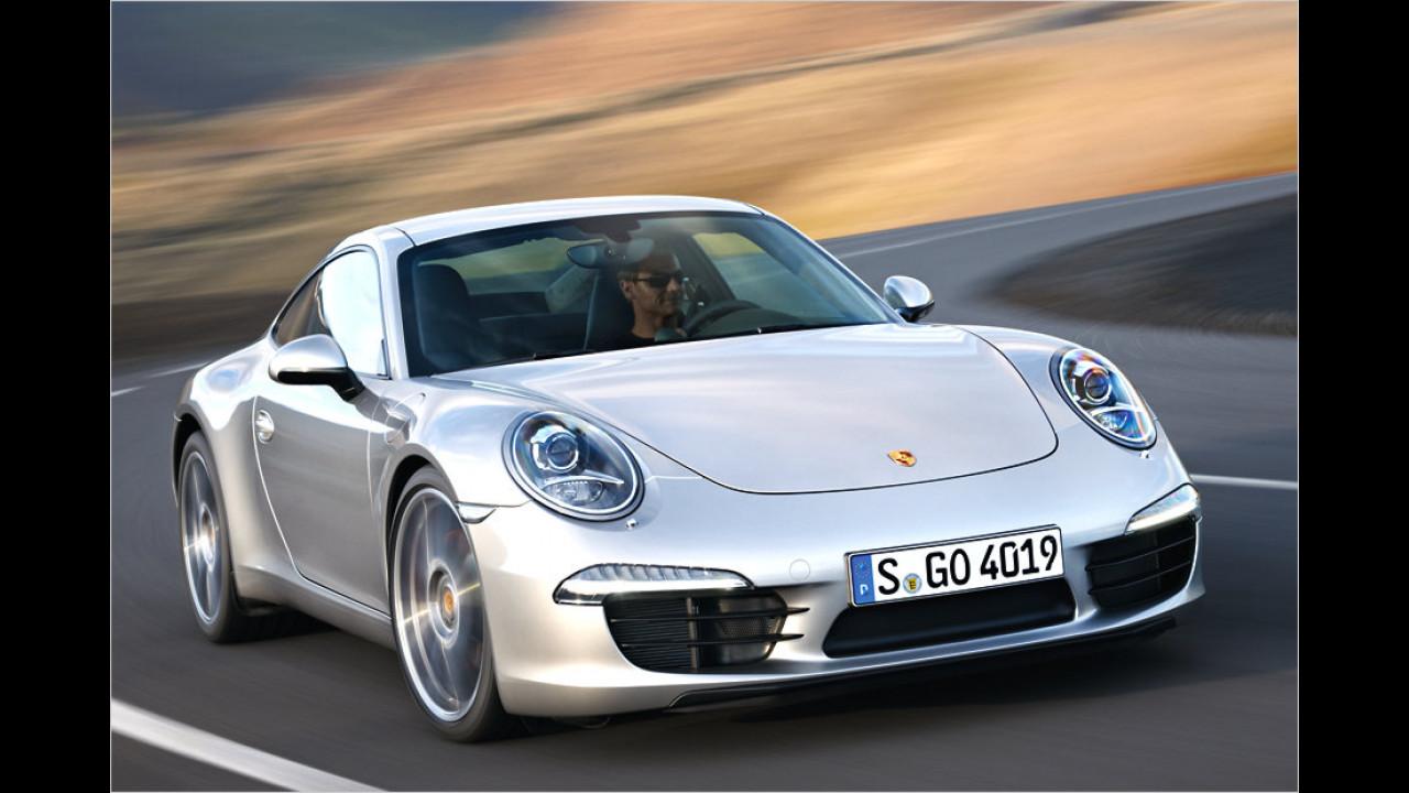 Porsche 911 Carrera S: 304 km/h