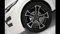 Schwarz-weißes Edel-SUV