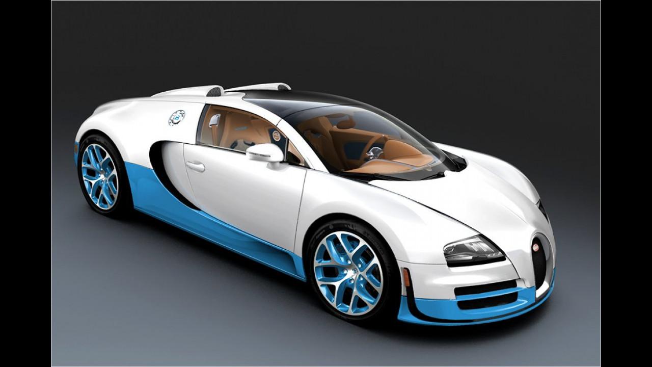410 km/h: Bugatti Veyron 16.4 Grand Sport Vitesse