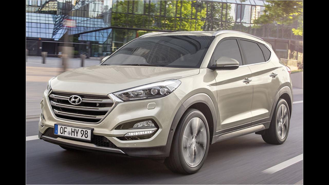 Hyundai Tucson: 25.407 Neuzulassungen (inklusive ix35)