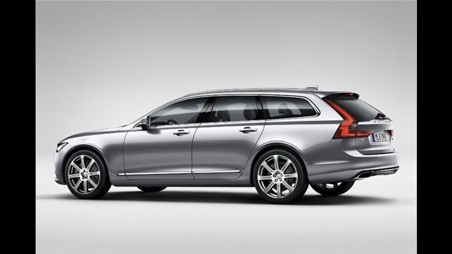 Enthüllt: Volvo V90