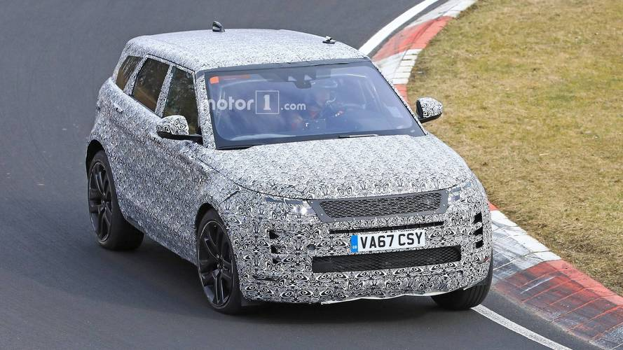 2019 Range Rover Evoque Spied Looking Stylish At The Nurburgring