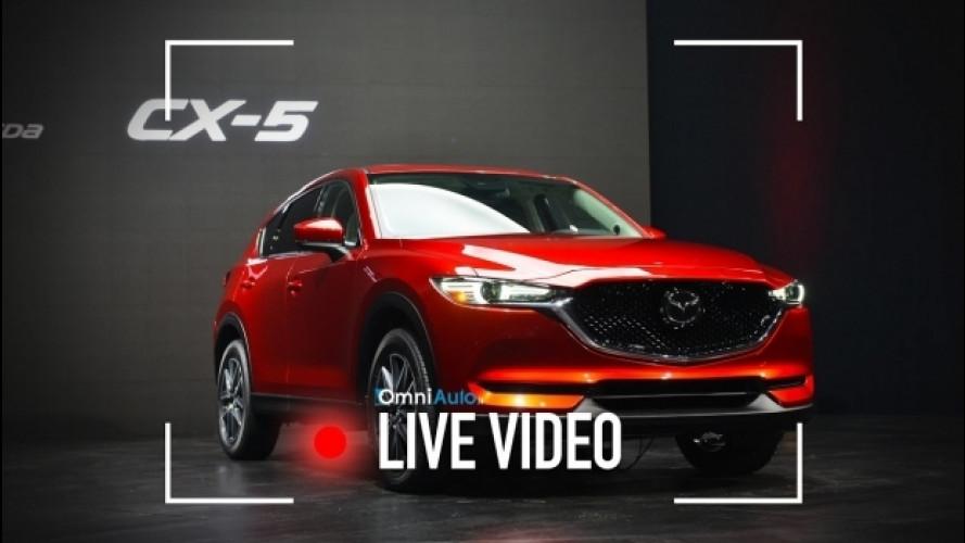 Nuova Mazda CX-5 vista dal vivo a Los Angeles [VIDEO]