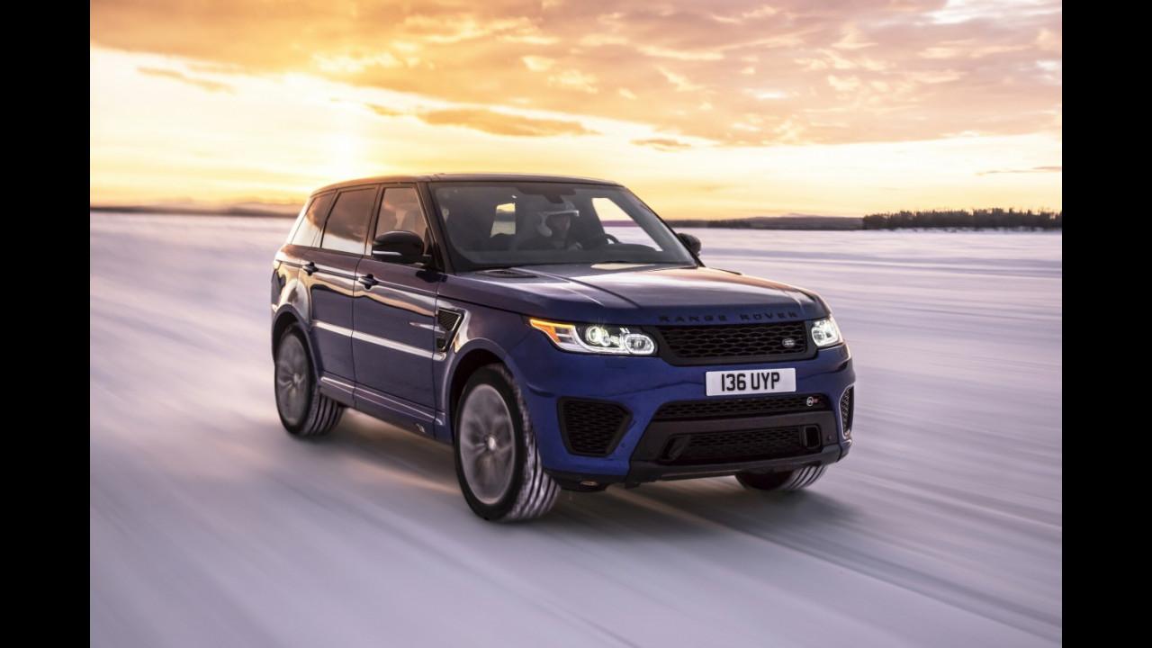Range Rover Sport SVR, la prova da 0 a 100 Km/h