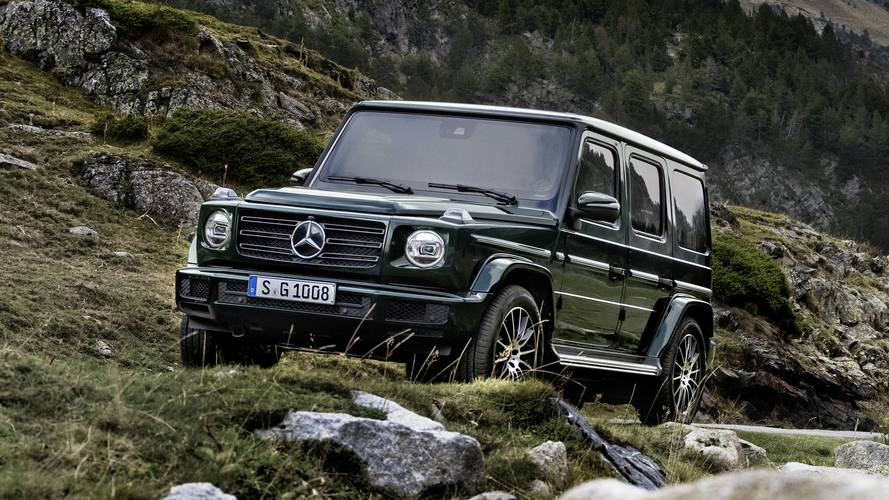 Mercedes g class is the jewel of the lineup for 2018 mercedes benz lineup