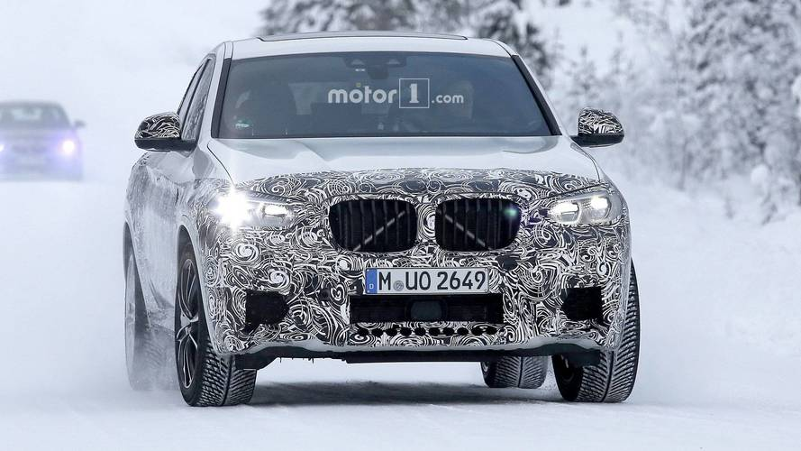 2020 BMW X4 M spy photos