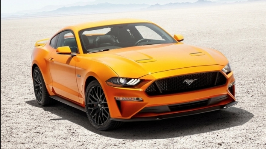 Ford Mustang, un restyling supertecnologico