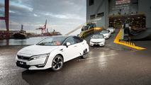 Honda Clarity Avrupa'ya geldi