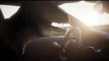 Vídeo: T-Rex deprimido mostra como condução autônoma da Audi mudou sua vida