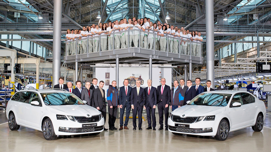 Škoda lance la production de l'Octavia restylée