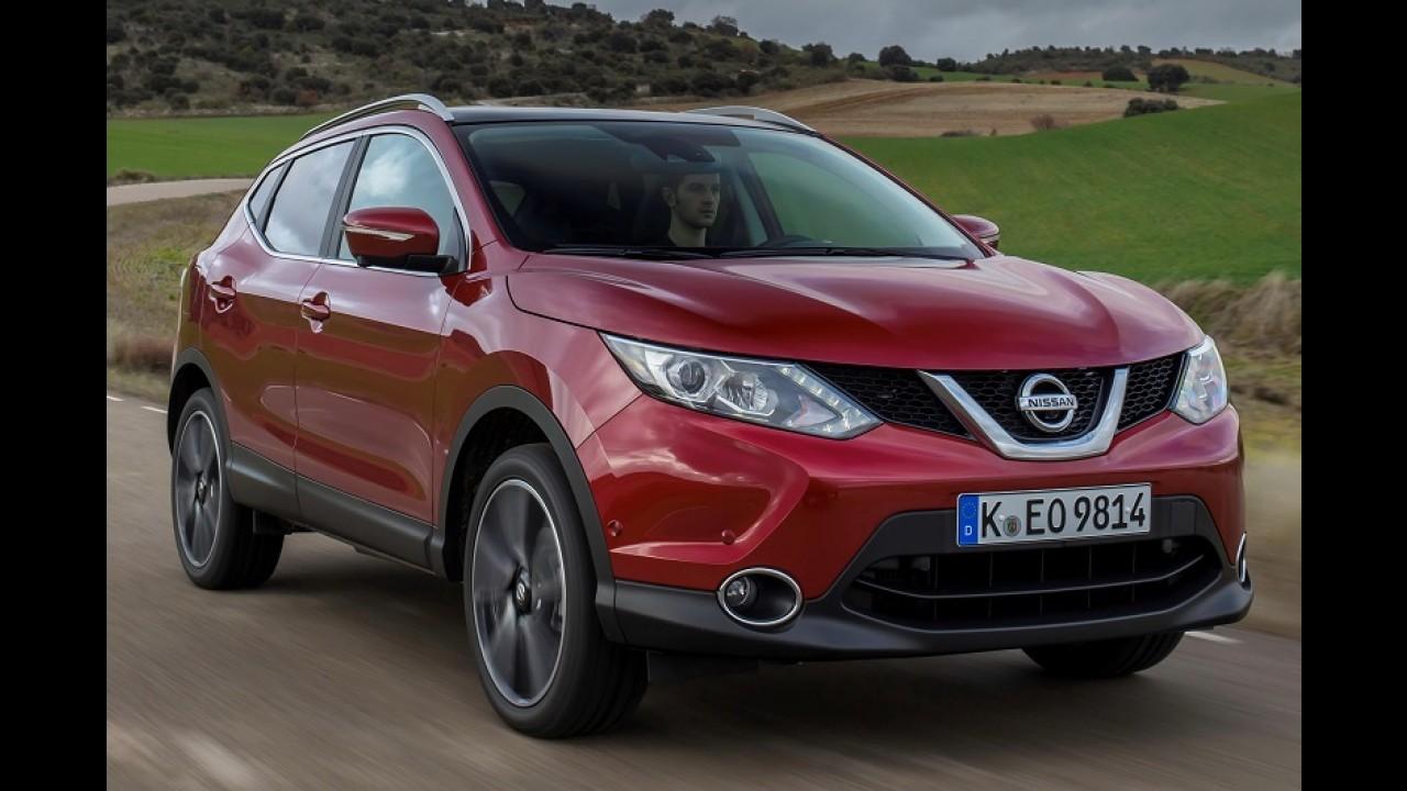 Qashqai vende mais que March e bate recorde histórico da Nissan na Europa