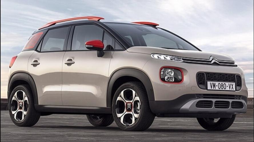 Citroen C3 Aircross, il SUV compatto secondo il Double Chevron
