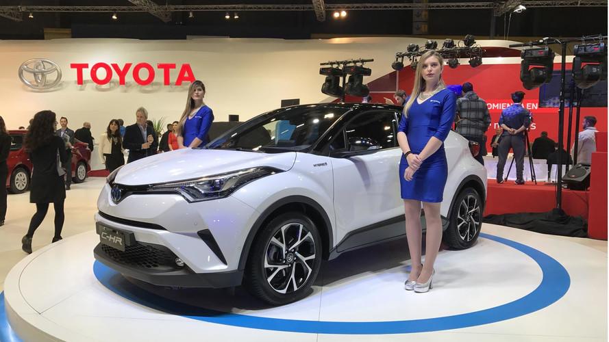Buenos Aires - Toyota C-HR Híbrido será vendido no Brasil