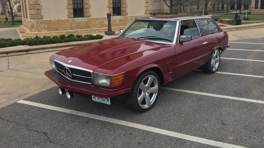 1979 Mercedes 450SL Shooting Brake Selling At No Reserve