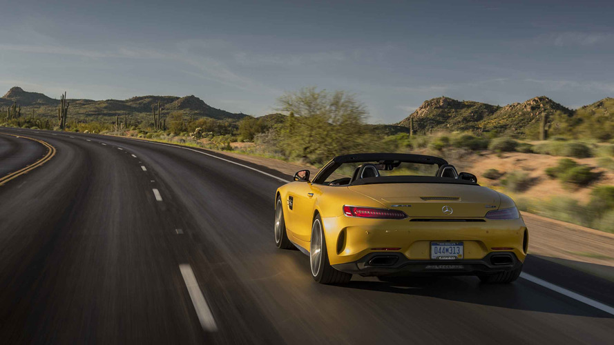 2017 Mercedes-AMG GT C Roadster First Drive