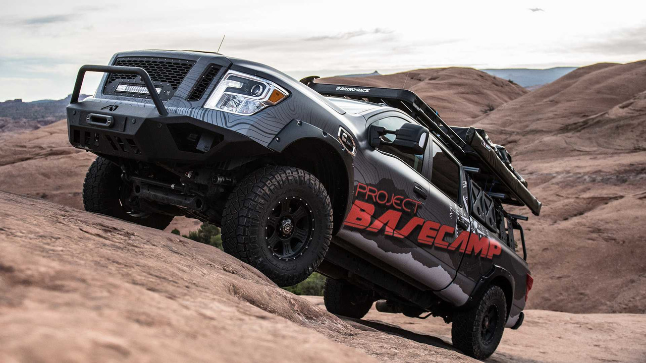 2017 nissan titan xd pro 4x project basecamp photo gallery. Black Bedroom Furniture Sets. Home Design Ideas