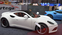 Artega GT concept with panoramic glass roof live in Geneva - low res - 07.3.2012