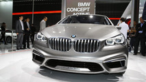 BMW Concept Active Tourer live in Paris 27.09.2012