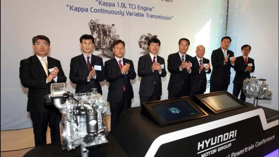 Hyundai annuncia il suo 1.0 TCI da 106 CV