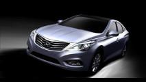 Nuova Hyundai Grandeur: primi disegni