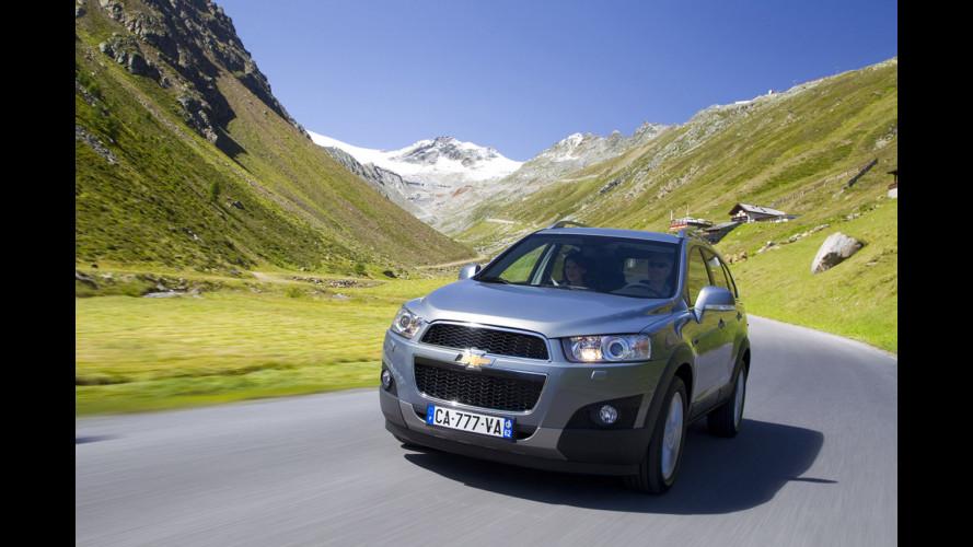 Chevrolet Captiva LTZ AWD 2.2 184 CV